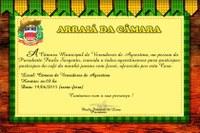 Câmara de Agrestina convida população para café junino na próxima sexta-feira (19)